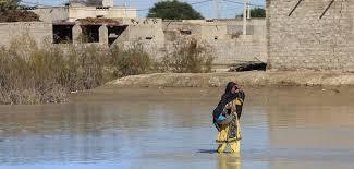 سطح آب در شهر سیستان و بلوچستان