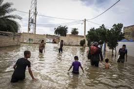 آب سطح خیابان های سیستان و بلوچستان