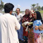 پخش مواد غذایی به نیازمندان