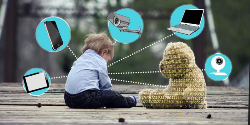 مشکلات استفاده کودکان از فضای مجازی